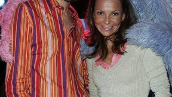 Benny Ibarra y Mariana Garza, ex integrantes del grupo mexicano Timbiriche.