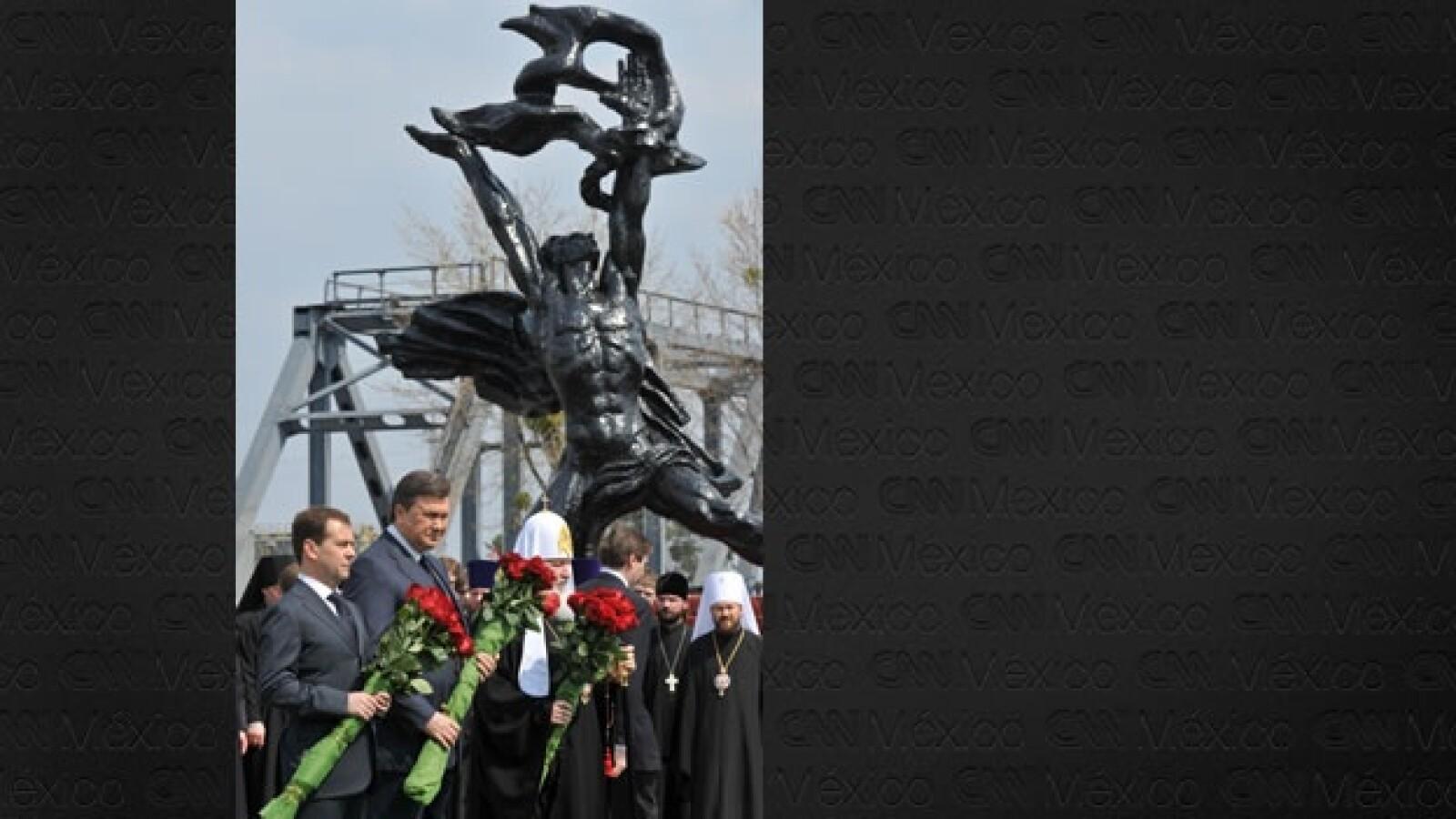 Chernóbil - 25 años - presidentes