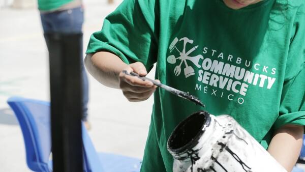 Voluntariado Starbucks