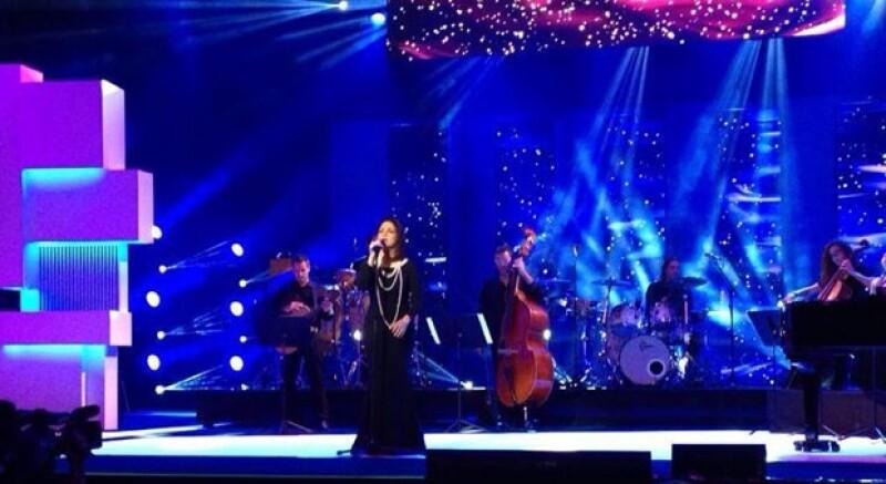 La artista invitada a los Premios fue Gloria Estefan.