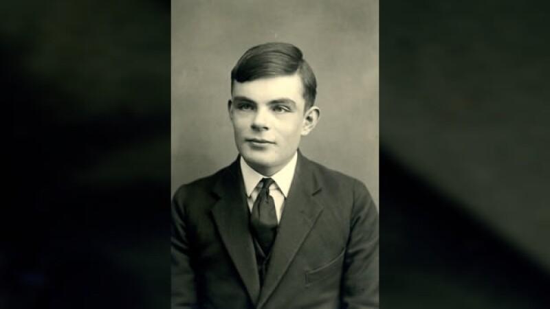 el matematico alan turing a los 16 años