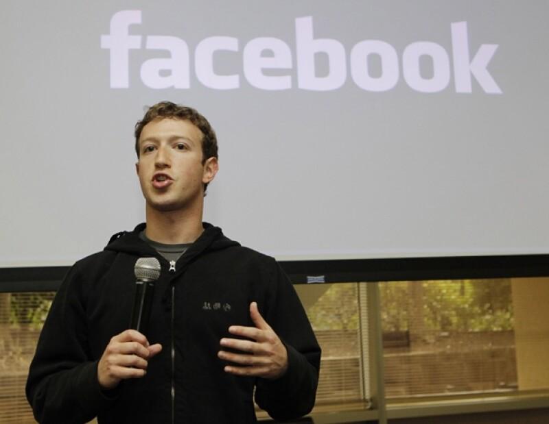 Mark Zuckerberg se colocó en el noveno lugar del ranking de los hombres más poderosos del mundo.