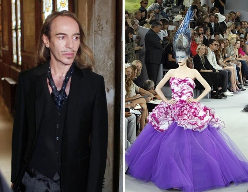 Uno de los mayores escándalos del mundo de la moda fue la serie de comentarios racistas del diseñador John Galliano.