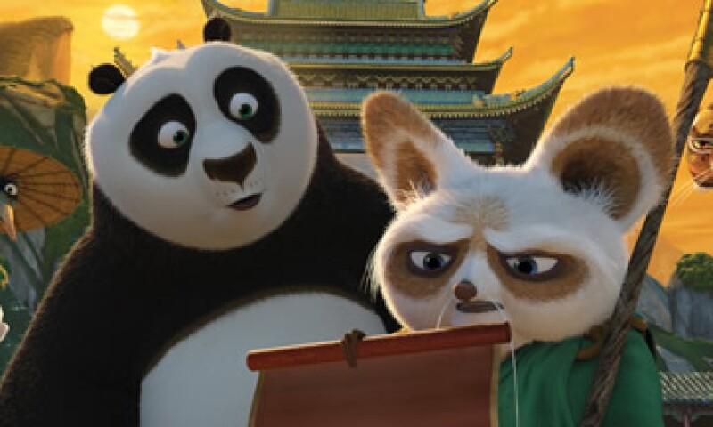 DreamWorks Animation planea lanzar Kung Fu Panda 3 el 18 de marzo de 2016.  (Foto: AFP )