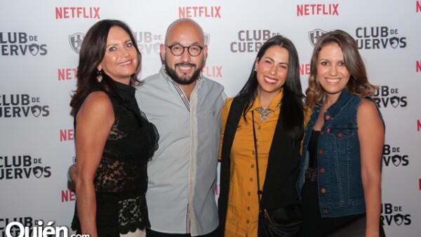 Josefina Barragán,Paulo Orendain,Mariana Orendain,Sofía Álvarez del Castillo