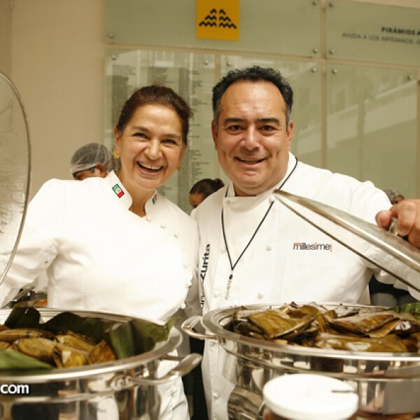 Mónica Patiño y Ricardo Muñoz Zurita