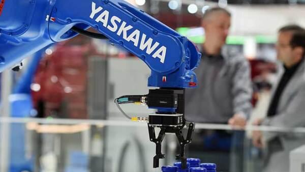 robot en empresa