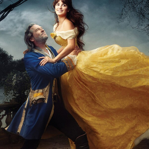 Jeff Bridges y Penelope Cruz dando vida a la Bella y la Bestia