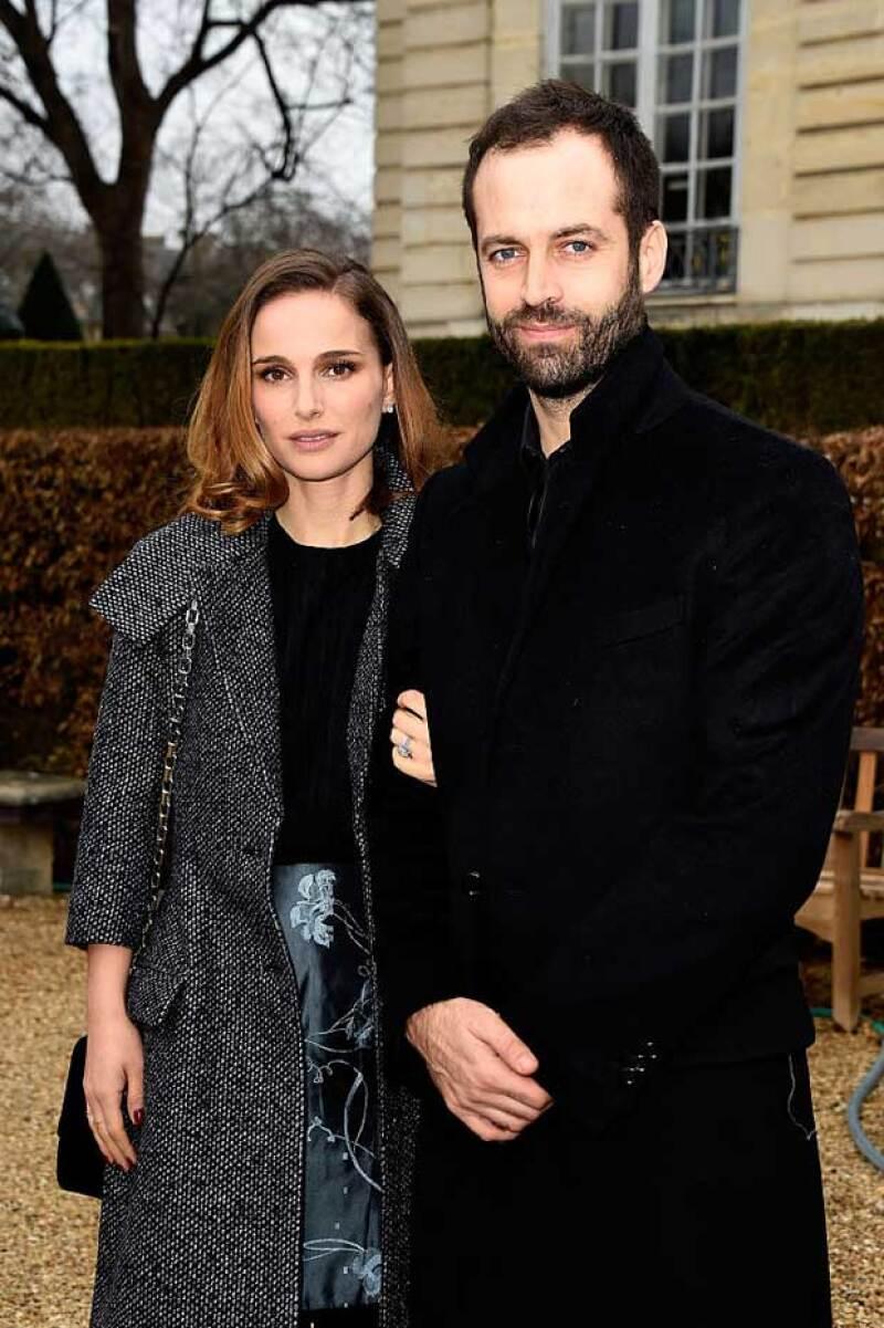 Benjamin y Natalie están casados desde 2012 y ya tienen un hijo juntos.