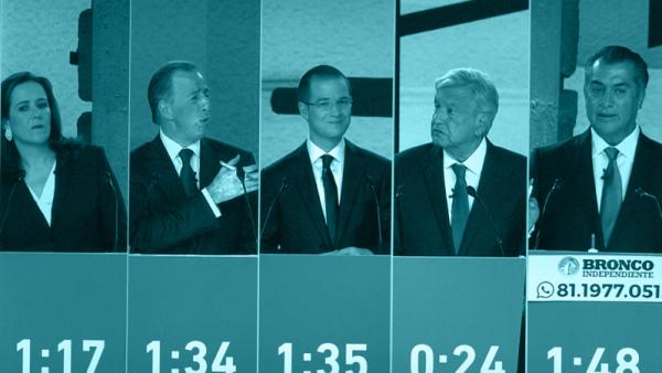 Estos son los números del primer debate presidencial en las redes sociales