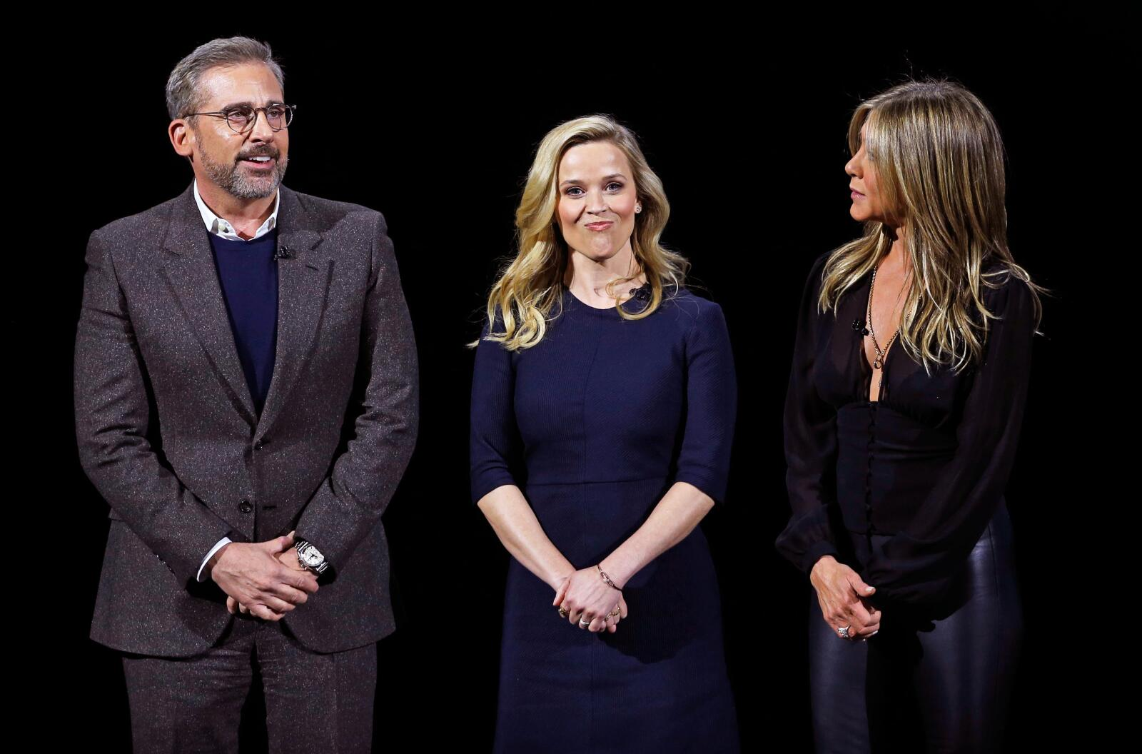 Steve Carell, Reese Witherspoon y Jennifer Aniston