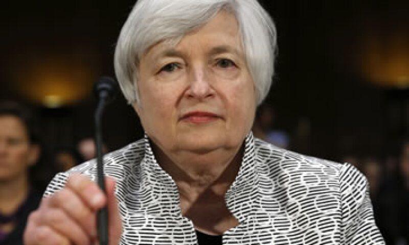Janet Yellen dio su testimonio bianual ante la Comisión de Bancos del Senado de EU. (Foto: Reuters)