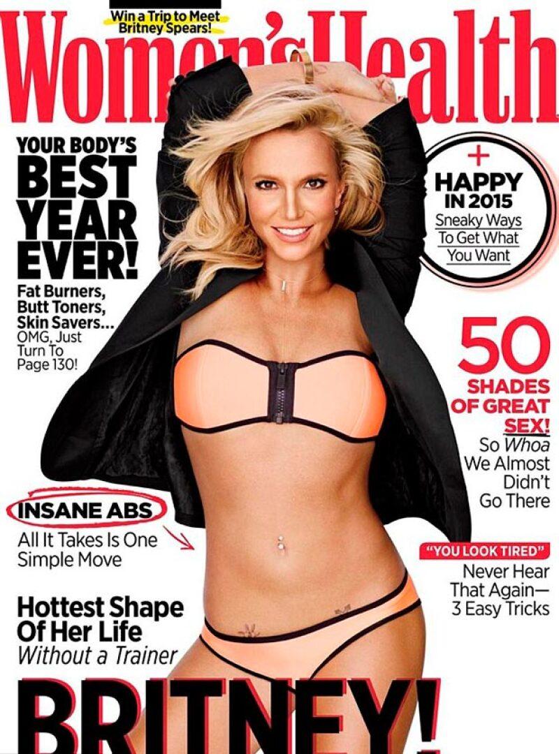 La cantante aparece en la portada de Women&#39s Health luciendo un silueta esbelta, y un rostro irreconocible, que ha generado cuestionamientos sobre si fue editada.