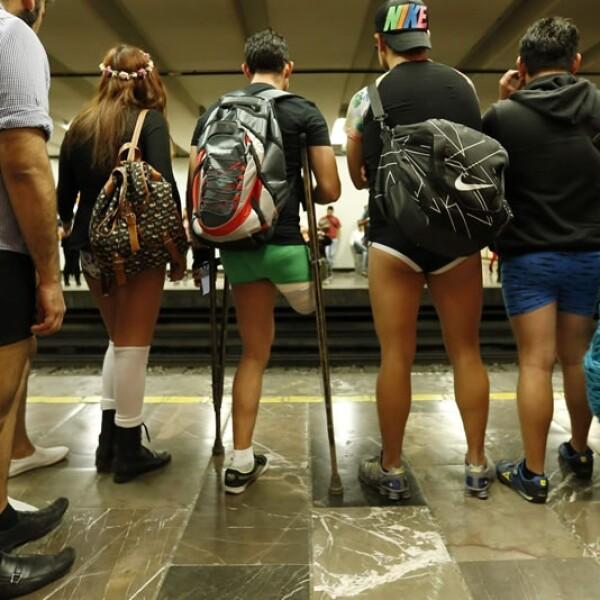 De todos colores y tamaños se hicieron presentes en las estaciones del Metro