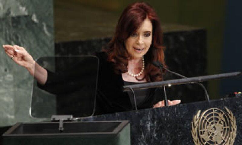 Fernández ha acusado al FMI de haber obligado a Argentina a aplicar las políticas que en su opinión provocaron la crisis económica del 2001/2002. (Foto: AP)