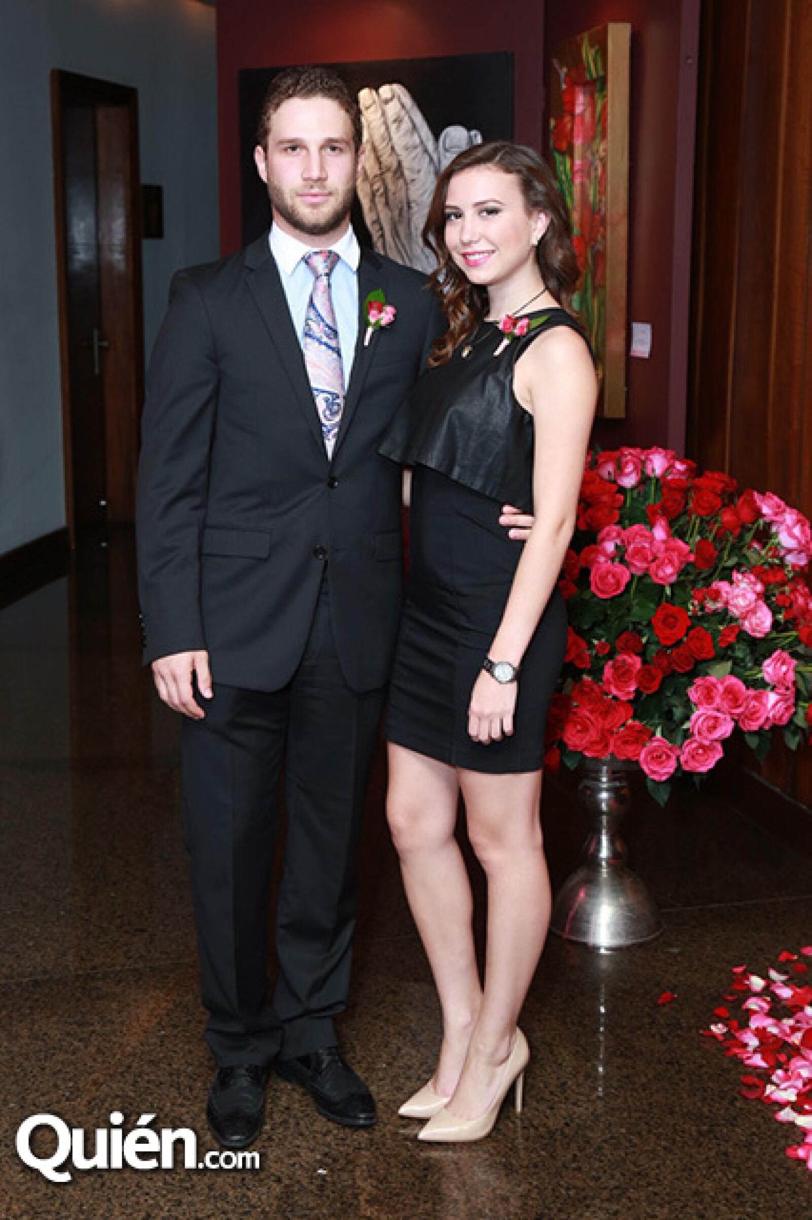 Maximiliano Fernández y Renata Landeros