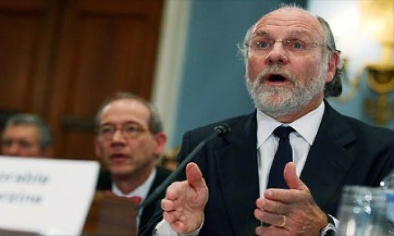 Corzine declaró la semana pasada ante el Congreso que no sabía dónde estaba el dinero faltante. (Foto: Cortesía CNNMoney)