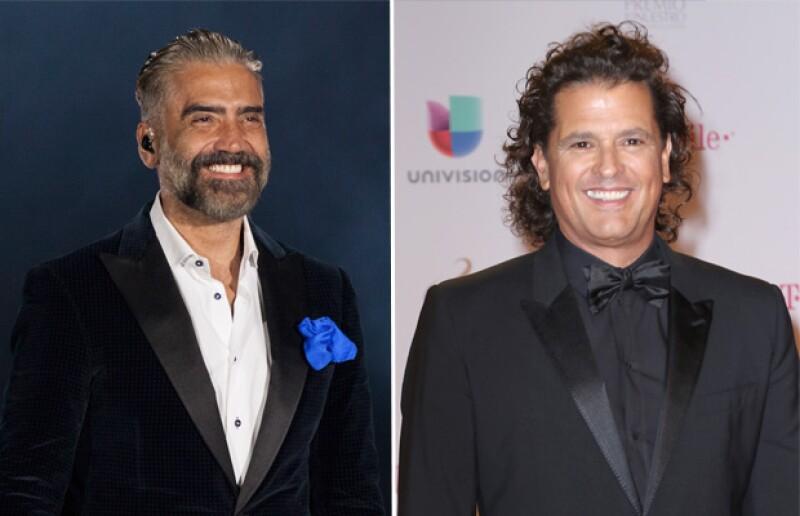 """En el programa """"Hoy"""" se confirmó que Carlos Vives será parte de la próxima gira de Alejandro Fernández, misma que en un principio estaba planeada con """"El Sol""""."""