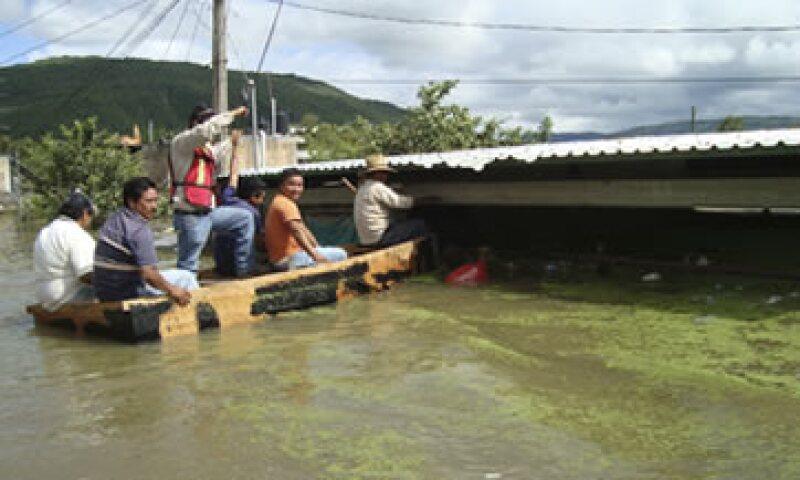 Por las fuertes lluvias se han emitido 312 declaratorias de emergencia para municipios de 14 estados. (Foto: Cuartoscuro)