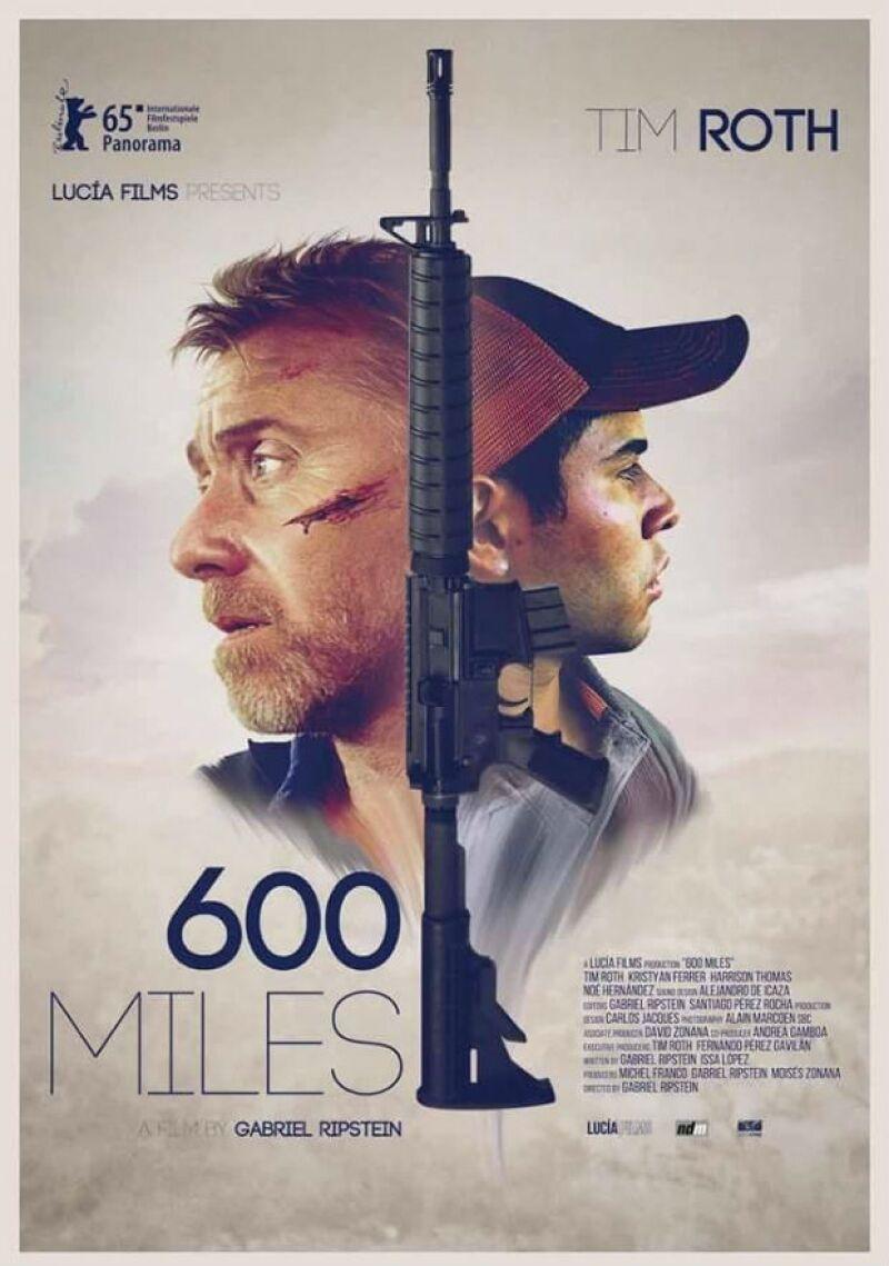 Kristyan Ferrer protagoniza 600 Millas junto al actor Tim Roth.