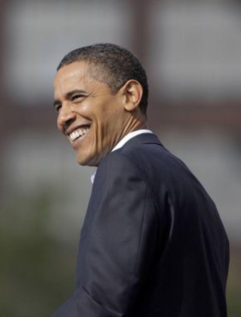 Obama fue elegido presidente de Estados Unidos.