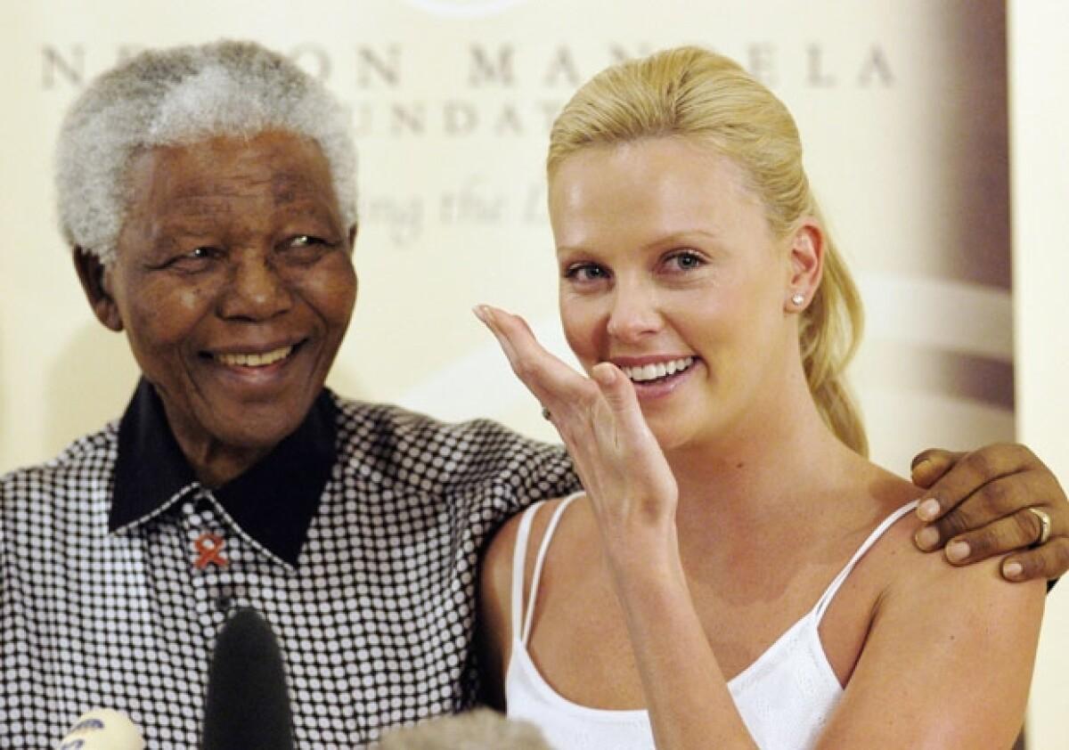 Mandela y Morgan Freeman se hicieron amigos gracias al cine