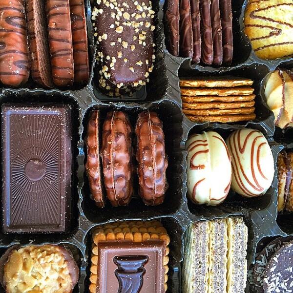 Es imposible resistirse a esta variedad de galletas.