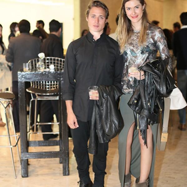 Alexander Díaz Andersson y Alejandra Felix