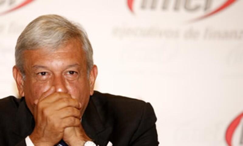 López Obrador advirtió que no permitirá la corrupción y que no le interesa el dinero. (Foto: Notimex)