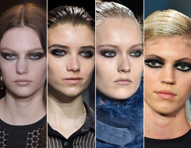 Elie Saab, DVF, Monique Lhuillier y Cushnie et Ochs proponen un smokey eye intenso.