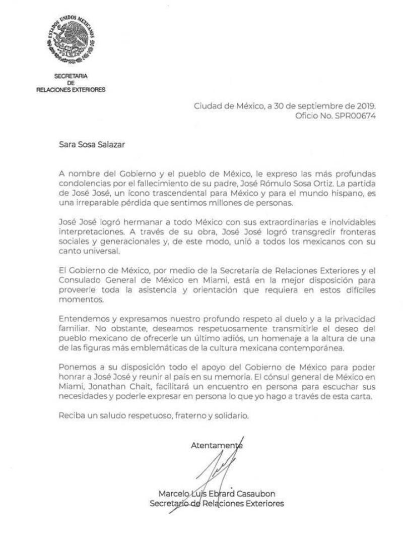 Carta Marcelo Ebrard