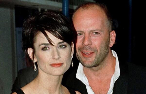 Demi Moore y Bruce Willis.