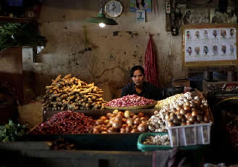El aumento en los precios de los alimentos están a un 3% del nivel alcanzado en 2008. (Foto: AP)