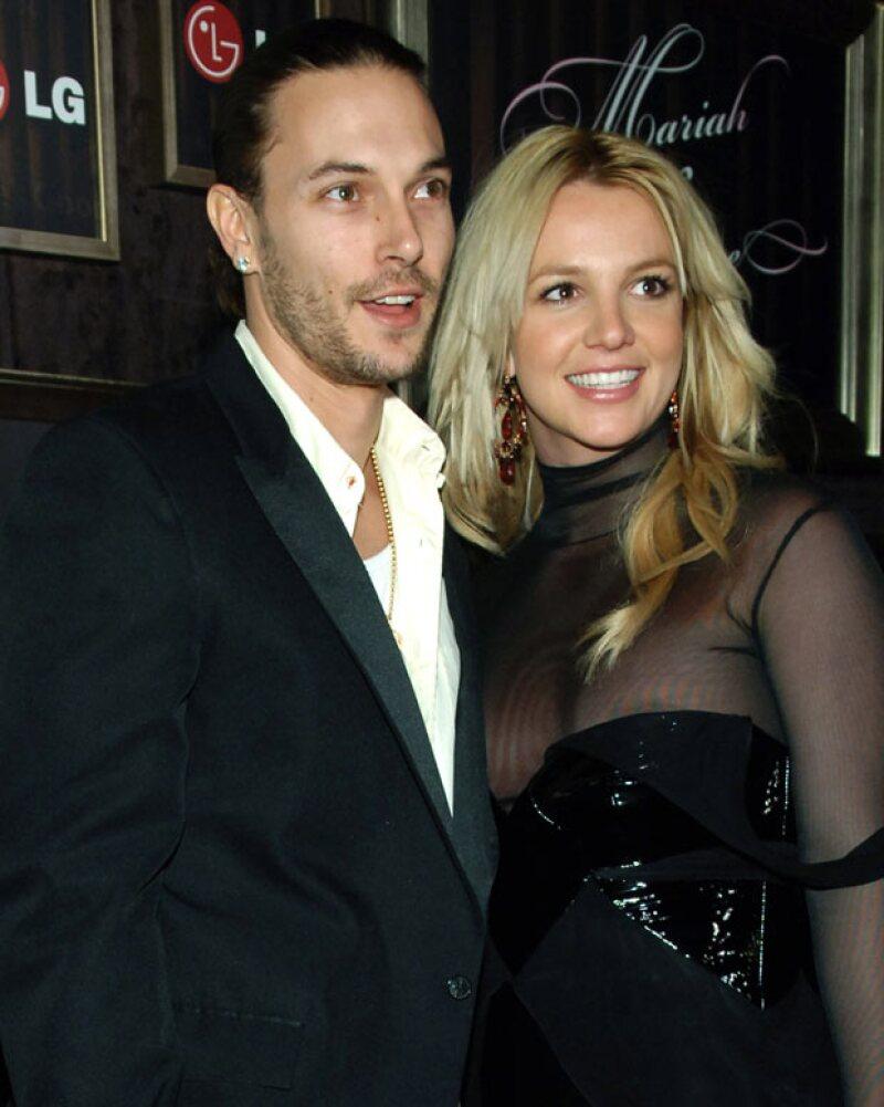 Britney Spears se separó de Kevin y luchó por la custodia de sus hijos.