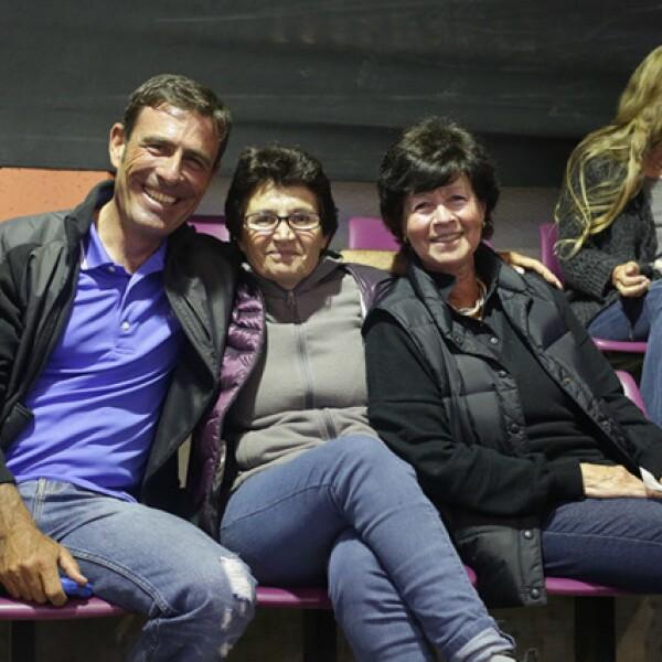 Anibal González,Patricia San Felice y Marta Acosta