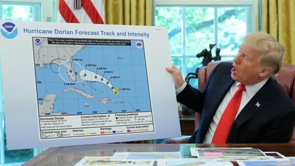 El huracán que nunca se dirigió a Alabama