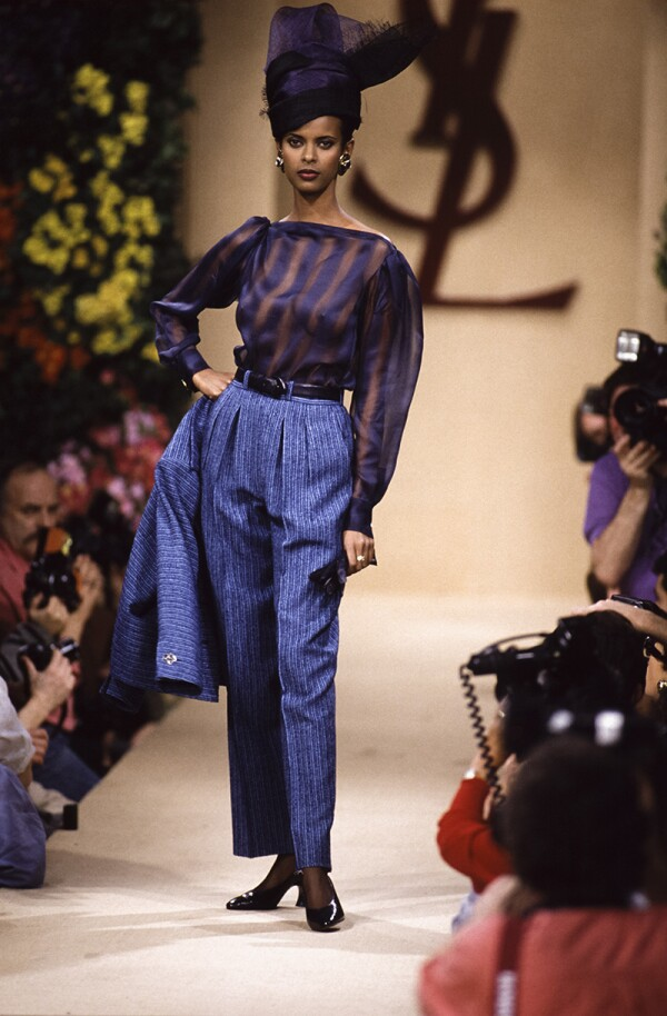 Foto: GettyImages, Yves Saint Laurent Haute Couture SS 1993