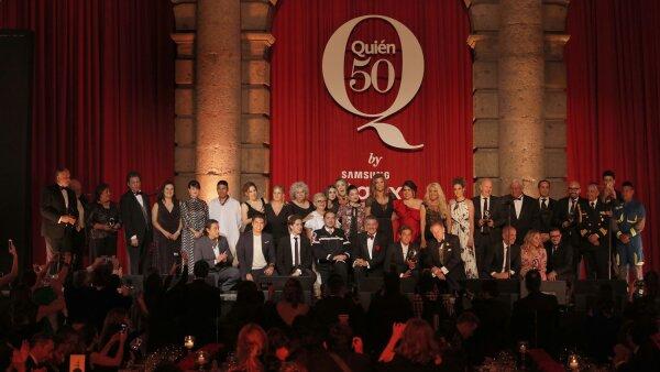 Gala Quién 50 2017
