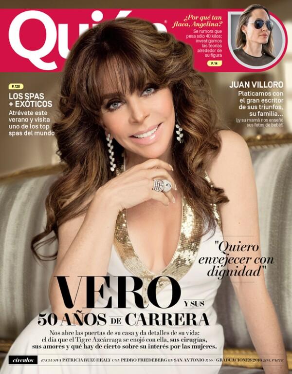 Verónica Castro está de regreso.