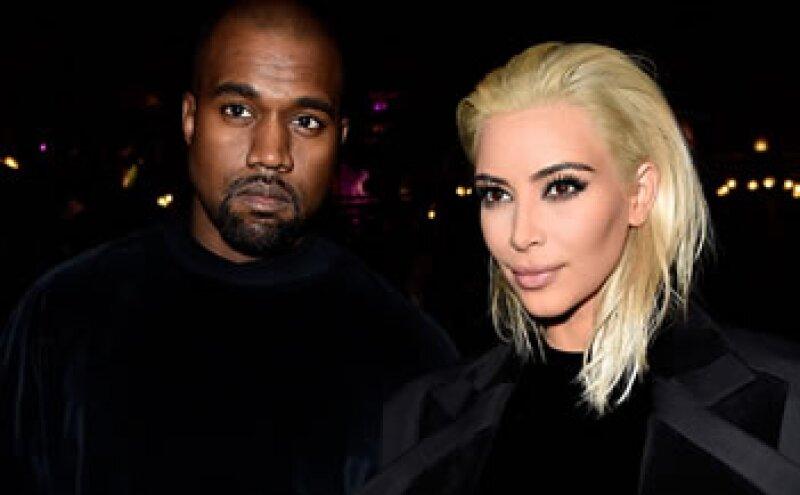 Kim Kardashian y Kanye West comparte el listado con otras personalidades como el CEO de Apple, Tim Cook. (Foto: Getty Images )