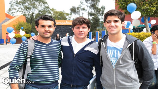 Alfonso Avila,Xavier Domenge,Rodrigo Valles