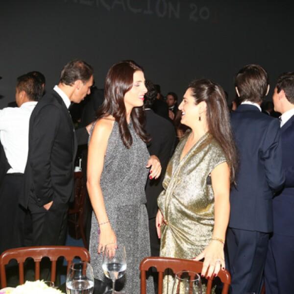 Vanessa y Soumaya Slim