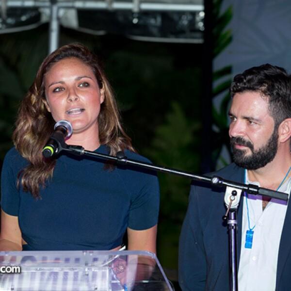 Alejandra Martínez y Alejandro Serratos