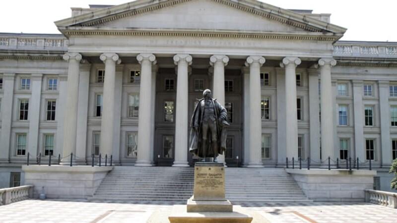 edificio del departamento del tesoro de estados unidos