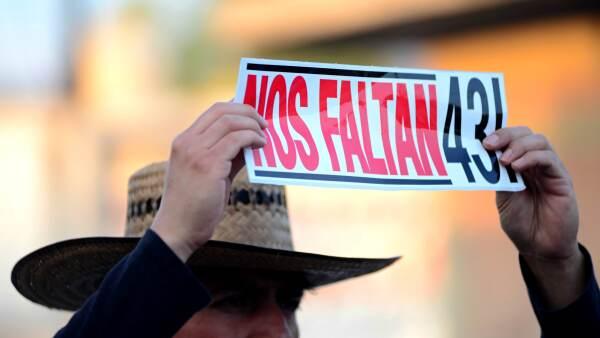 Las manifestaciones no han parado desde la desaparición de los normalistas de Guerrero.