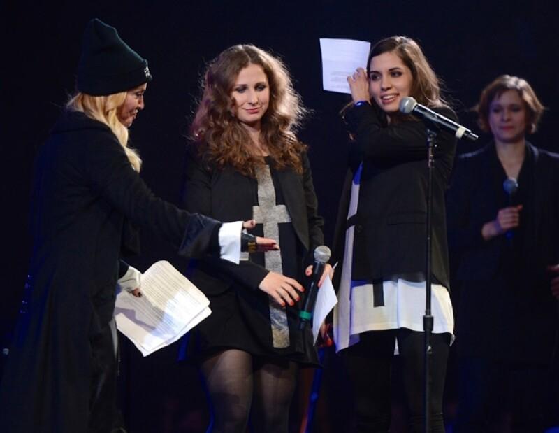 """Durante el concierto de Amnistía Internacional &#39Bringing Human Rights Home&#39, la cantante aseguró que es una """"luchadora"""" porque se respete el derecho a ser libre."""