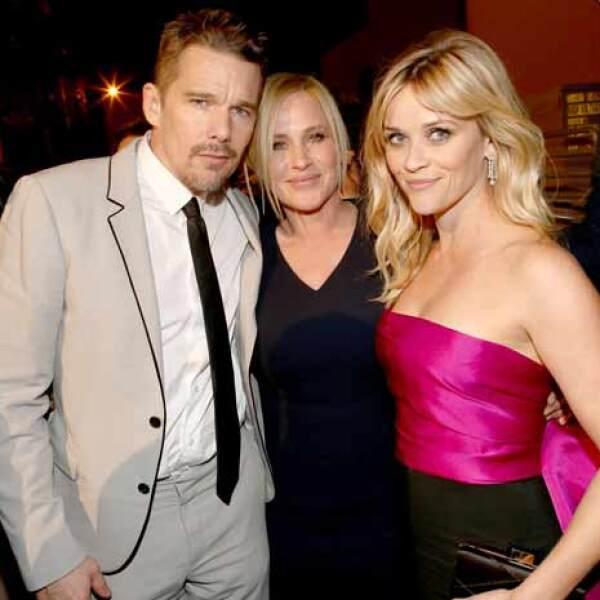 Los protagonistas de Boyhood también tuvieron su momento con Reese Witherspoon.