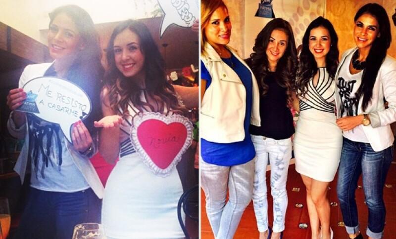 Las actrices Vanessa Arias y Mariana Ávila también estuvieron presentes en la celebración.