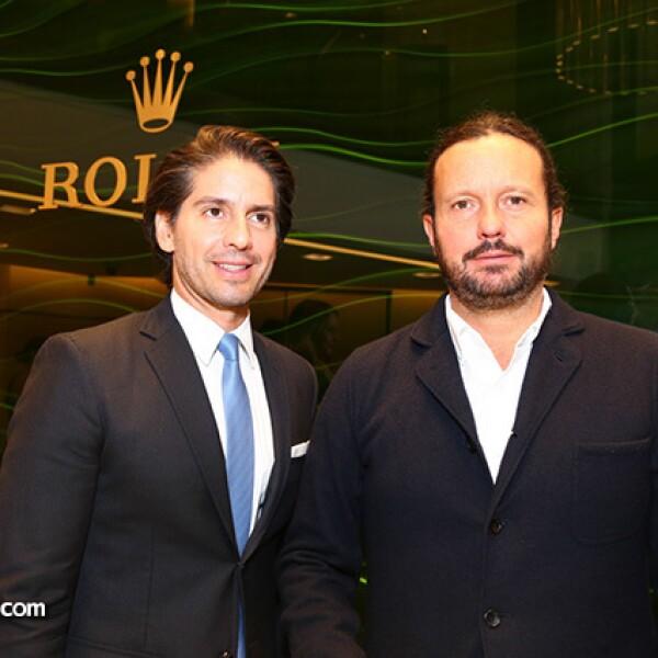 Abelardo Marcondes y Eduardo Prieto