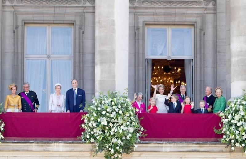 La familia real Belga.